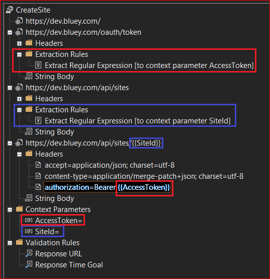 Visual Studio Web Tests and OAuth: Taming the elusive Access Token